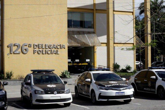 Policiais da 126ª DP prenderam o líder do tráfico de drogas em Rio das Ostras