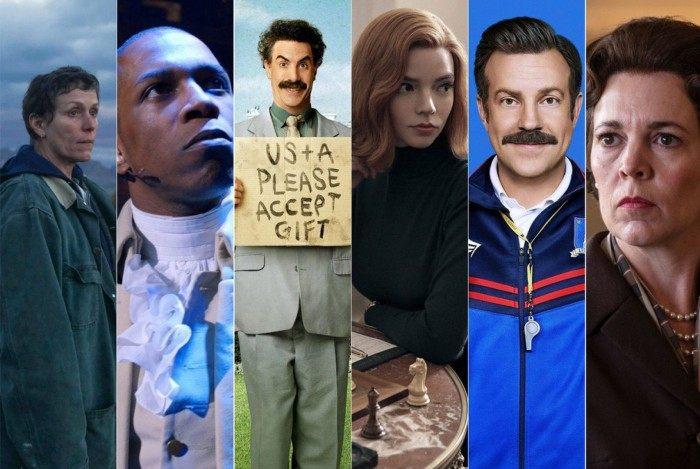 Alguns dos indicados para o Globo de Ouro; premiação acontecerá no dia 25 de abril