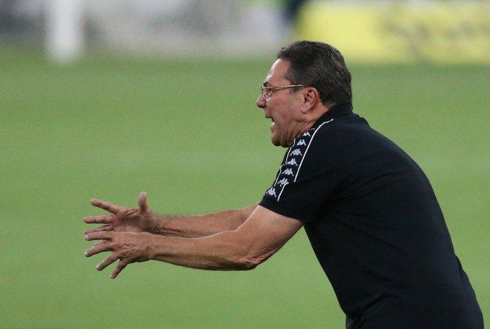 Flamengo e Vasco duelam pela 34 rodada do Campeonato Brasileiro. Vanderlei Luxemburgo