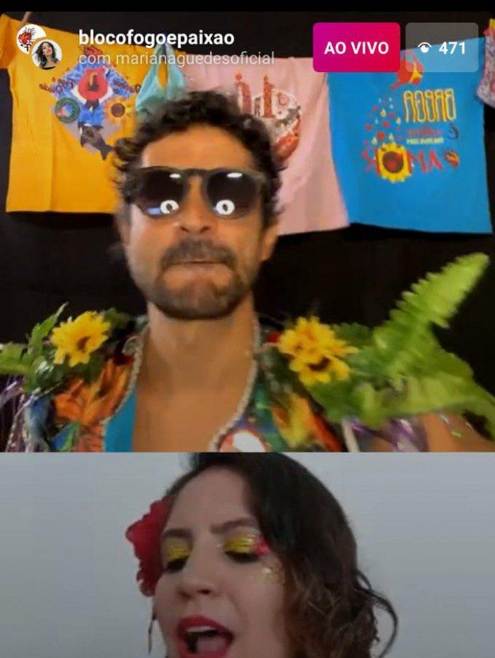 Live 'Love' do Bloco Fogo e Paixão no Carnaval 2021