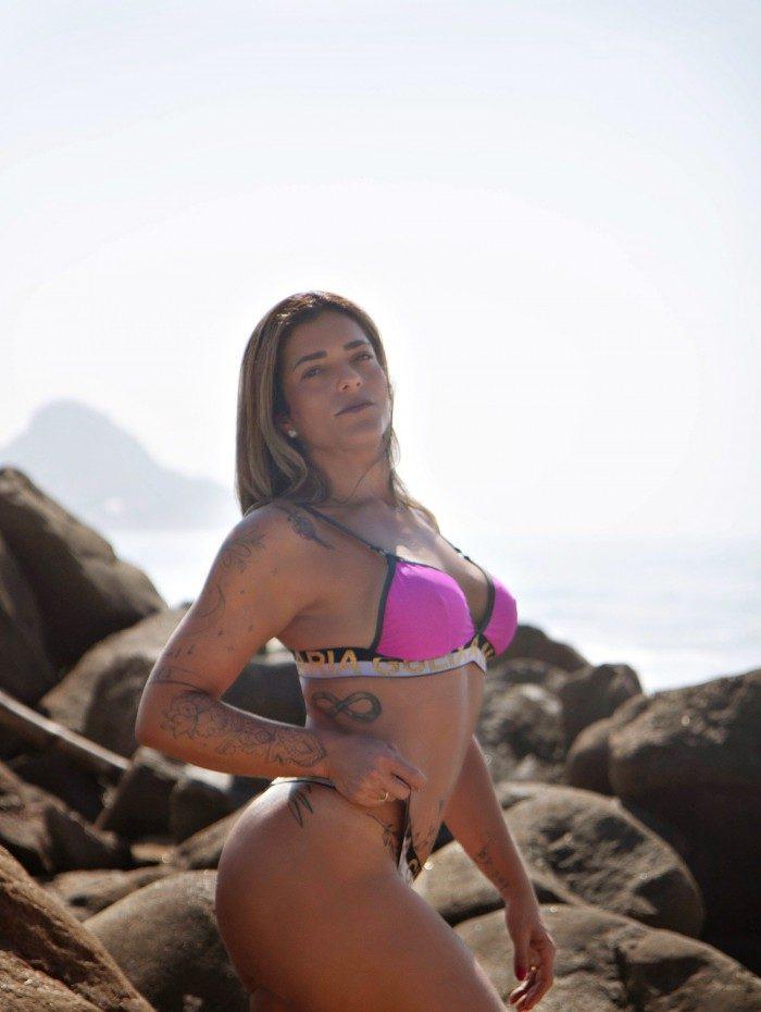 Marcele França é torcedora do Flamengo — A Gata da Hora