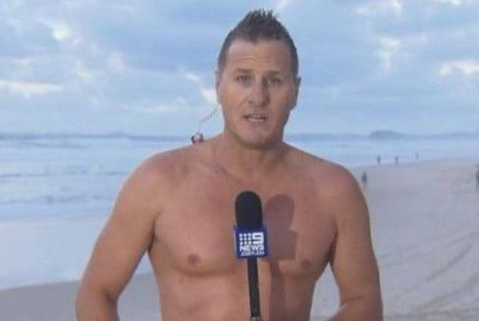 Luke Bradnam, repórter australiano, ajudou no resgate do corpo