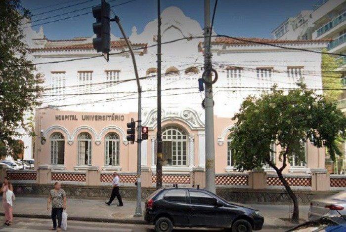 Hospital Universitário Gaffrée e Guinle, na Tijuca, Zona Norte do Rio
