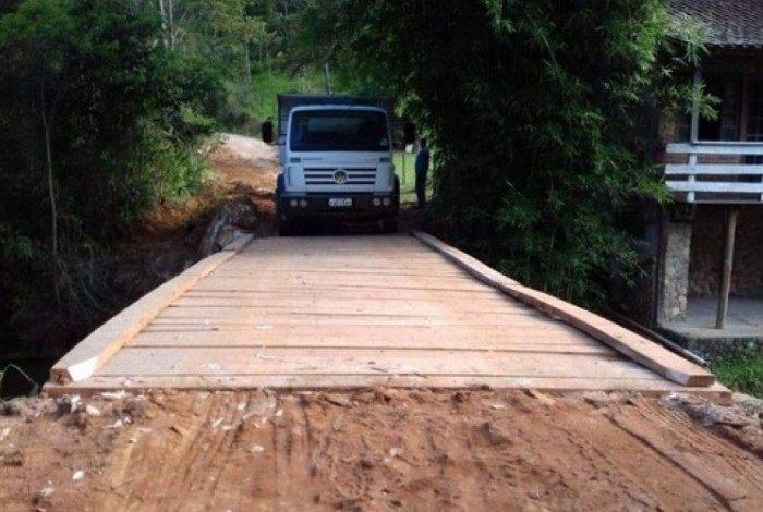 Subprefeitura de Lumiar e São Pedro da Serra finalizou as obras de recuperação de duas pontes dos distritos