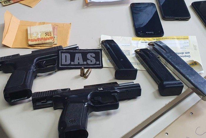 Polícia Civil prende três milicianos que extorquiam dono de oficina em Campo Grande