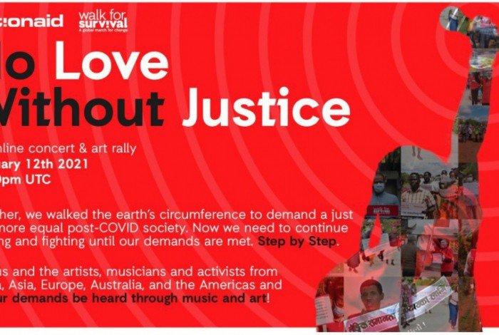 Cartaz de divulgação do evento da ActionAid