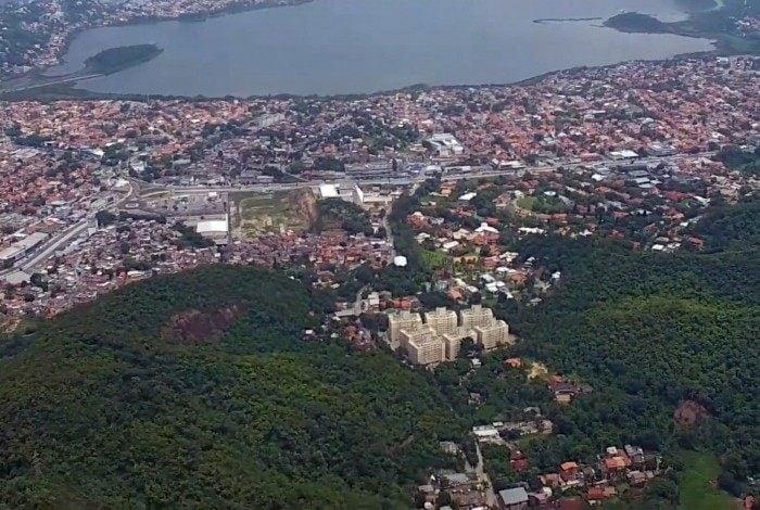 A região fica próxima à Lagoa de Piratininga