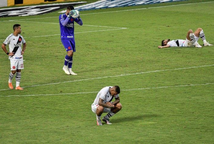 Vasco está em situação delicada no Brasileiro