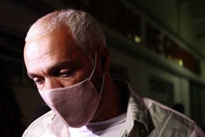 Rio de Janeiro 17/02/2021 - Belo é preso 4 dias após show em escola no Complexo da Maré. Foto: Luciano Belford/Agencia O Dia