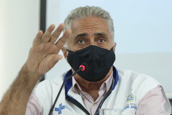 Carlos Alberto Chaves, secretário de Saúde do Estado do Rio