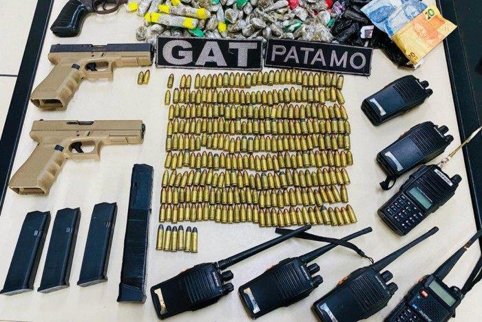 O chefe do tráfico de drogas do Morro da Coca Cola, localizado em Arraial do Cabo, foi preso