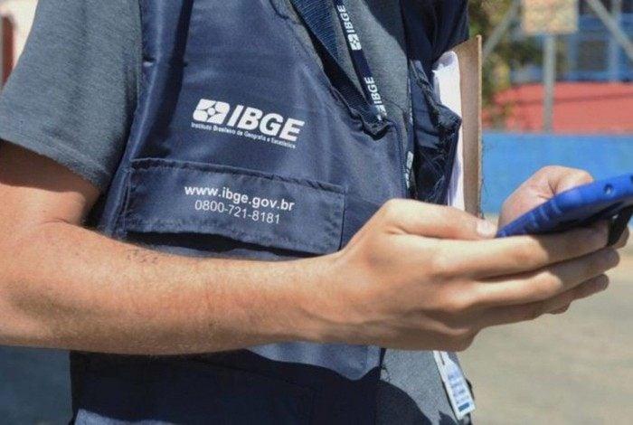 IBGE abriu 204.307 vagas temporárias para atuar em 5.297 municípios do país