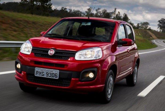 Fiat Uno: com a chegada do Mobi acabou sucumbindo nas vendas e deverá deixar a ser produzido em breve