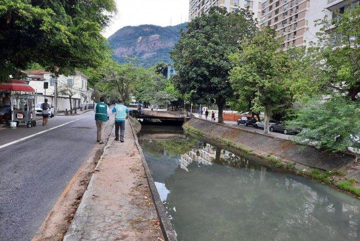 Prefeitura do Rio multa de R$ 1 milhão à Cedae por despejo de esgoto na Lagoa Rodrigo de Freitas