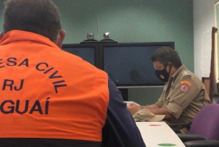 Itaguaí participou da reunião com representantes da Defesa Civil Municipal