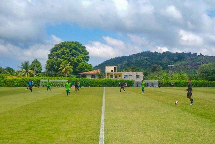 Voltaço fez jogo-treino com o Boavista, neste sábado, dia 20