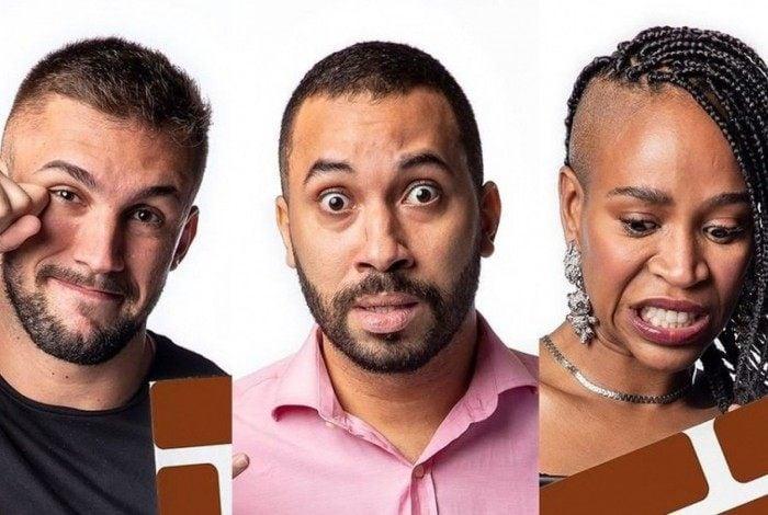 Arthur, Gilberto e Karol Conká