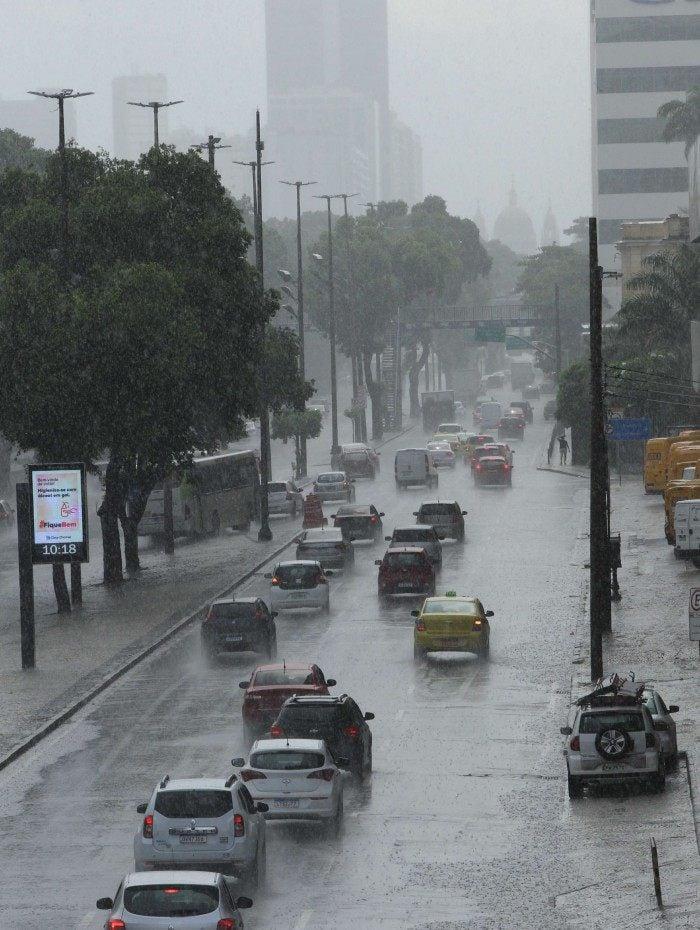 Rio tem previsão de chuva pelo menos até quinta-feira (11)