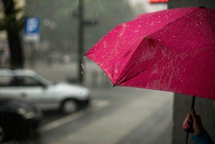 Há registros de chuva para até a próxima quinta-feira (29)