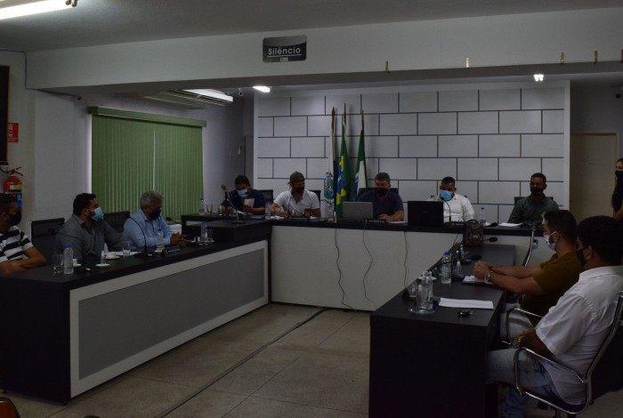 Sessão contou com a participação remota e presencial dos demais vereadores