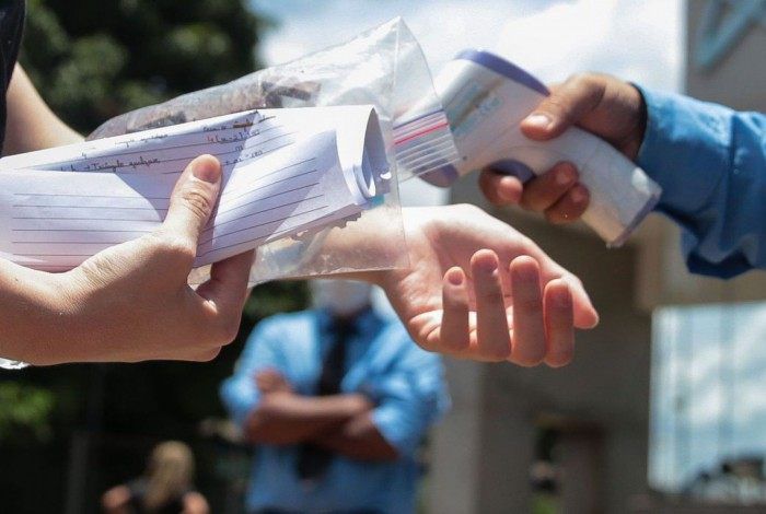 Estudantes de todo Brasil fazem o segundo dia de prova do Enem  2020 (Exame Nacional do Ensino Médio)