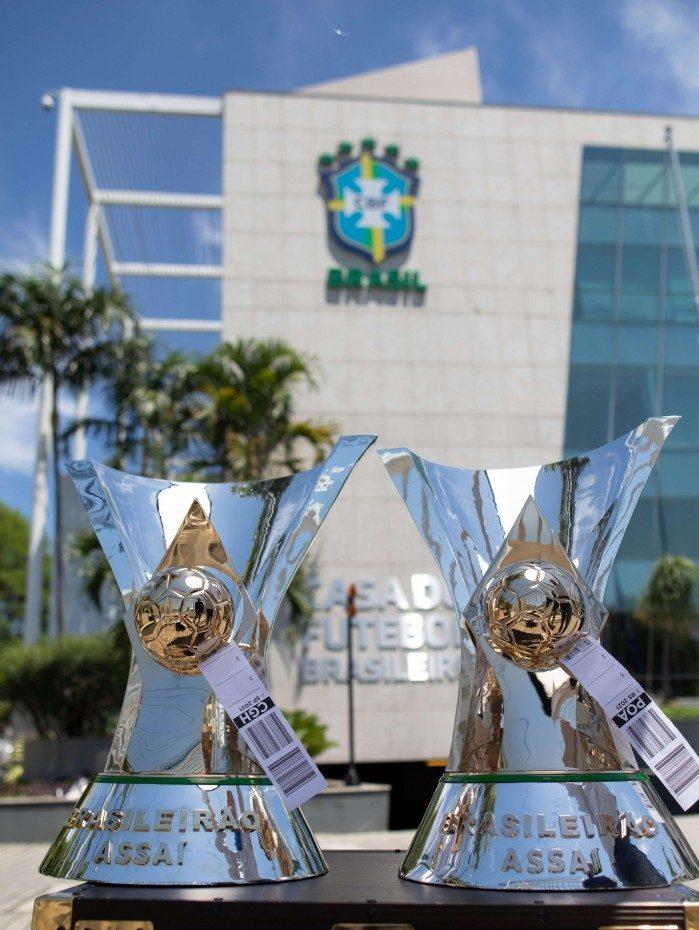 As taças do Campeonato Brasileiro irão para Morumbi e Beira-Rio