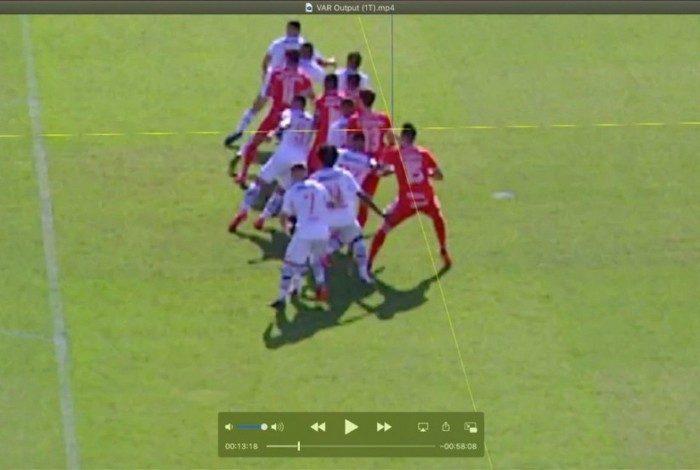 VAR não funcionou para checar gol do Inter contra o Vasco