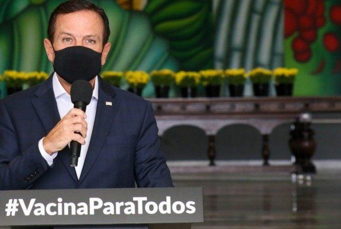 Governador de São Paulo, João Doria