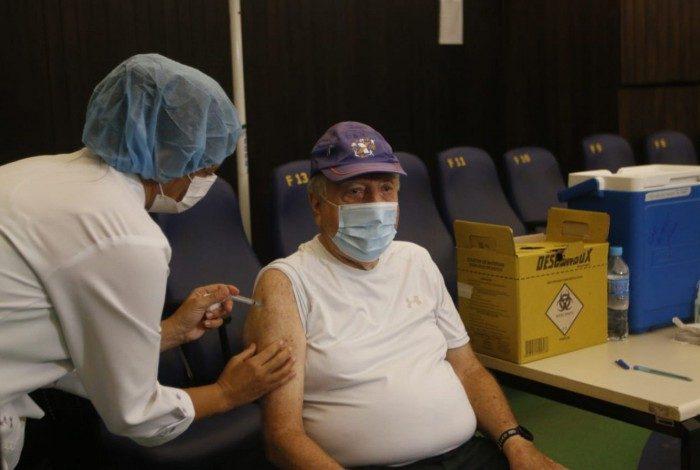 Vacinação no Planetário da Gávea