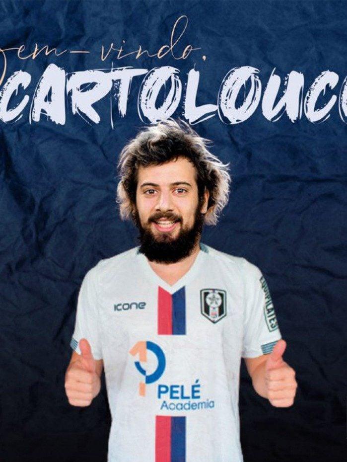 Cartolouco é anunciado como reforço do Resende para o Carioca