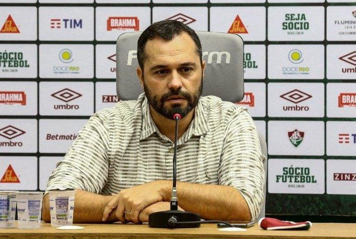 Mário Bittencourt é o presidente do Fluminense