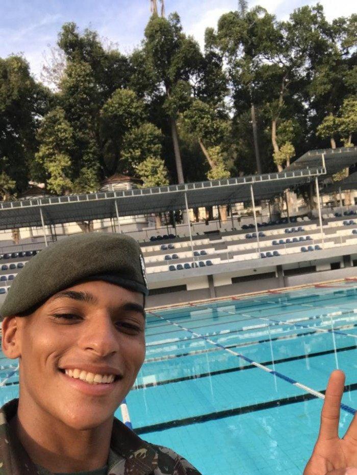 Guilherme era guarda-vidas do Colégio Militar