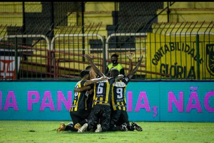 Volta Redonda venceu o Vasco por 1 a 0 no Raulino de Oliveira