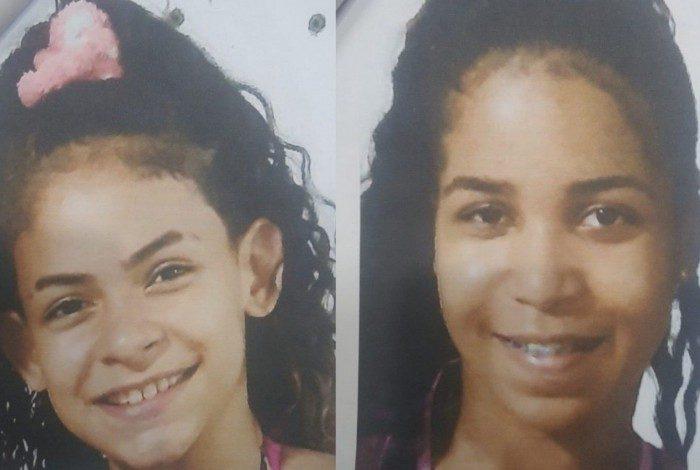 Amigas e vizinhas, Letícia e Lauane estão desaparecidas há 4 dias, após saírem de casa, em Nova Iguaçu, na Baixada Fluminense