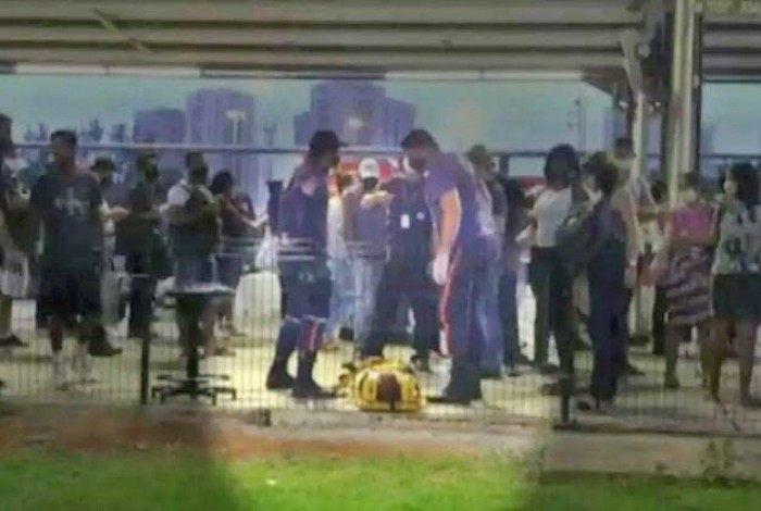 Menino de 12 anos foi pisoteado no BRT