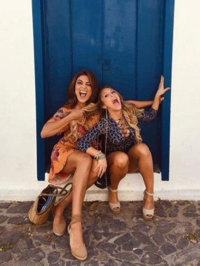 Juliana Paes e Carla Diaz
