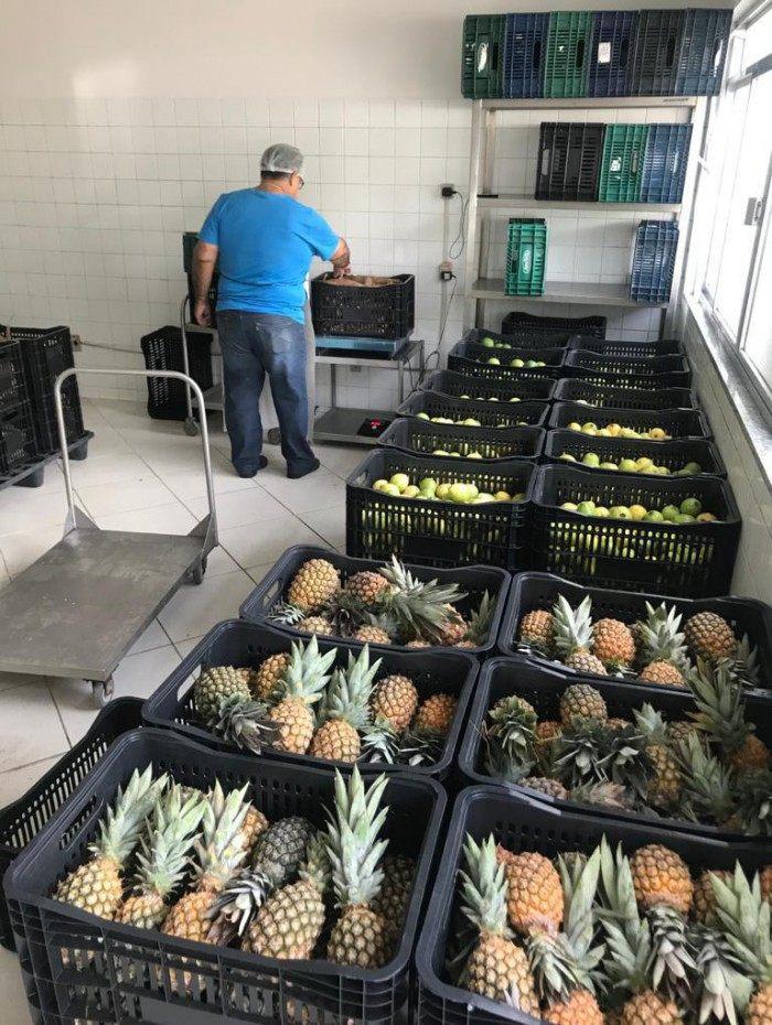 Volta Redonda recebe recebeu 1,2 toneladas de alimentos