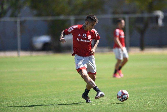 Guerrero se recupera de lesão no Internacional