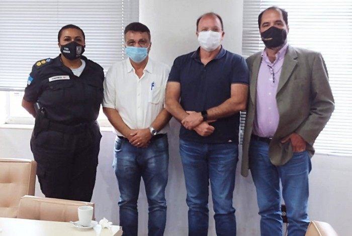 Lançamento do projeto de Segurança Pública, que irá atuar no Bairro Vila Santa Cecília, em Volta Redonda