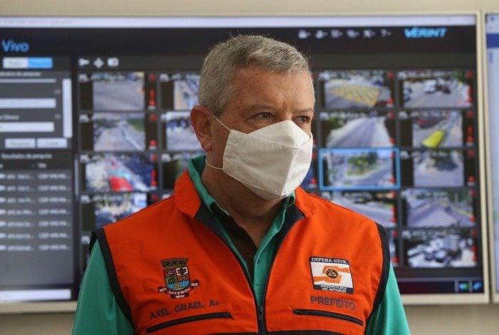 Axel Grael, prefeito de Niterói
