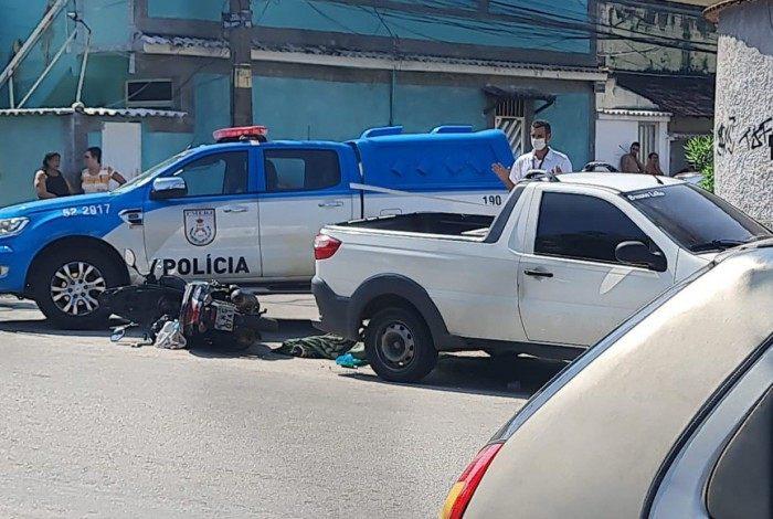 Crime ocorreu na Rua Corumbé, em Realengo na Zona Oeste do Rio