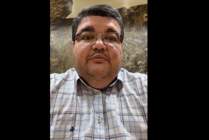 Rubem Vieira na live: medidas do governo estadual serão seguidas em Itaguaí, e equipes de Choque de Ordem vão circular por toda a cidade