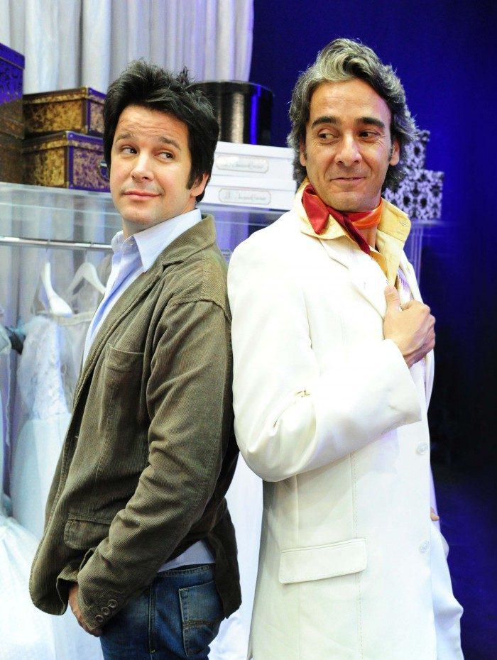 Jacques Leclair (Alexandre Borges) e Victor Valentim (Murilo Benício)