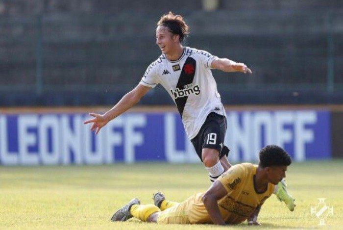 Matías Galarza fez o primeiro gol da partida