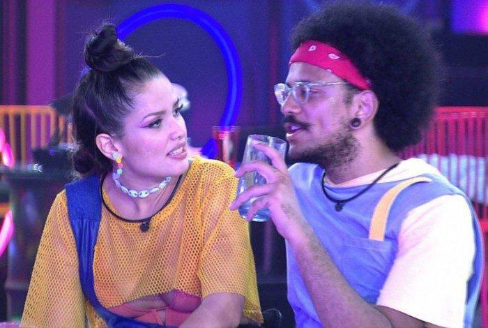 Juliette e João Luiz, no 'BBB 21'