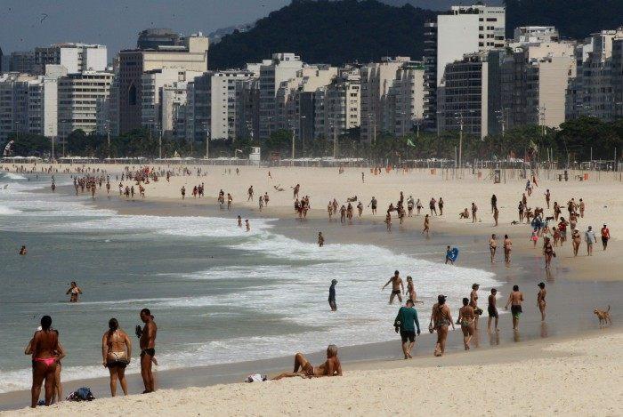 Praia do Leme, Zona Sul