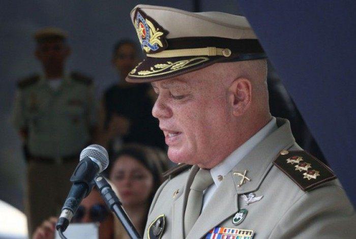 Paulo Coutinho, comandante-geral da Policia Militar