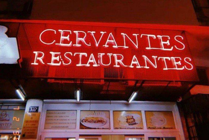 Restaurante e bar Cervantes, Copacabana