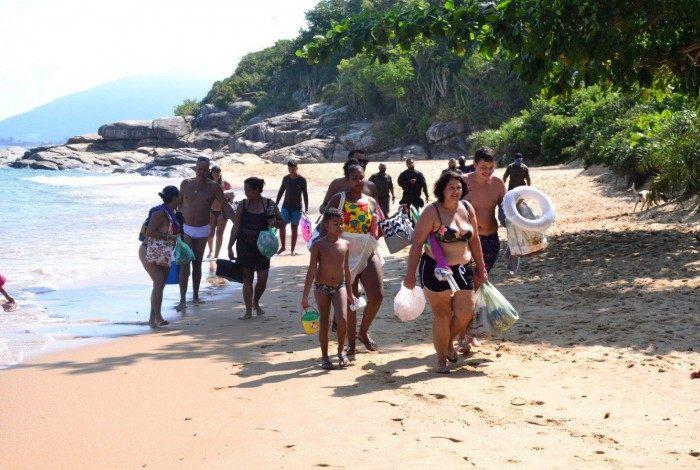 A fiscalização da Secretaria de Segurança Pública percorreu praias e lagoas