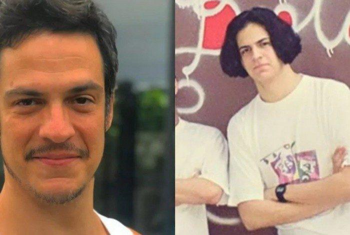 Mateus Solano usava cabelo parecido com o do personagem Beiçola, de 'A Grande Família'